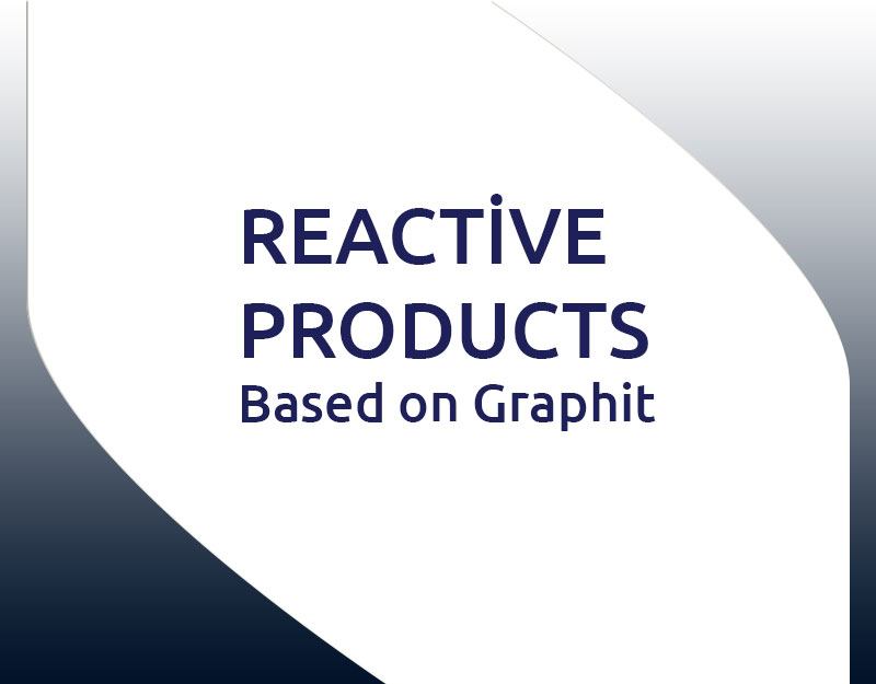 Reactive products based on graphit