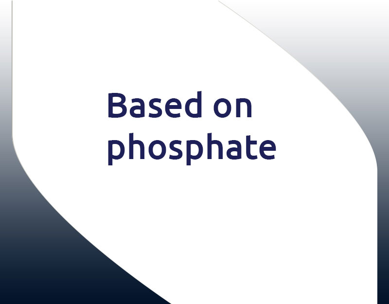 Based on phosphate